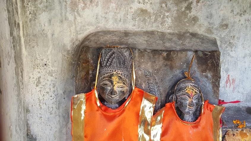 La consécration d'une statue dans l'hindouisme en Inde