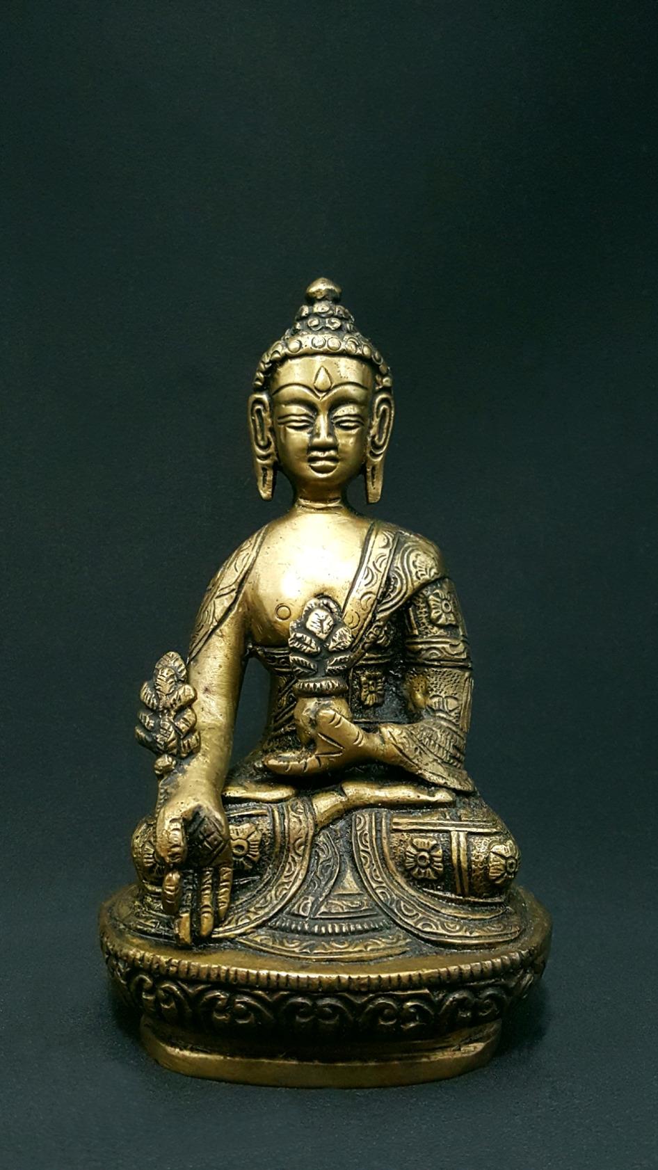 Buddha medecine lotus