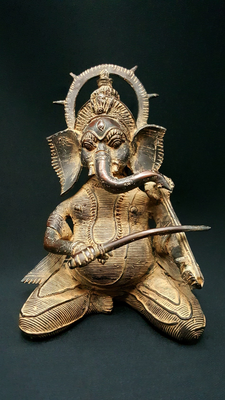 Bastar Ganesha Musician statue