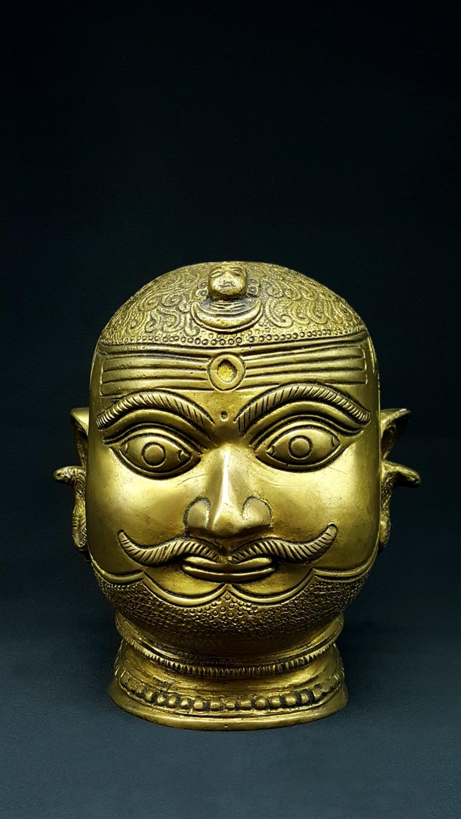 Shiva Head Statue