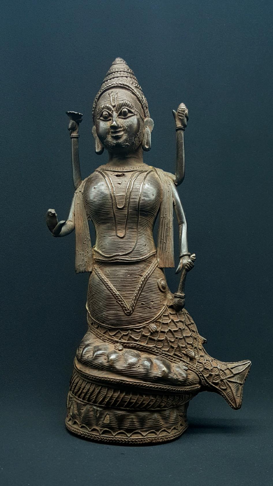 Statue Vishnou Matsya