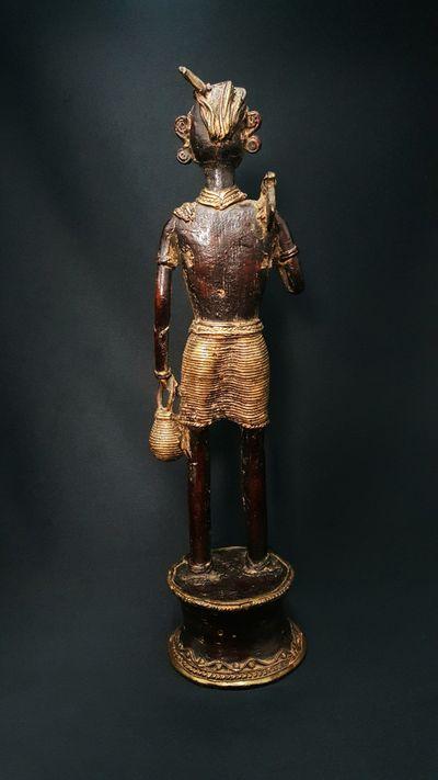 Bastar Man with Tumba