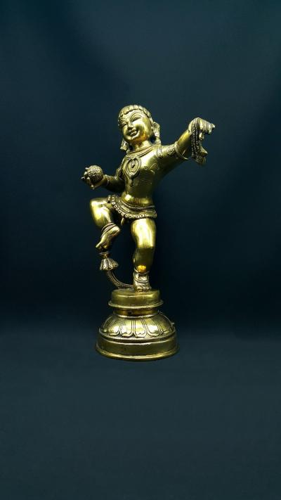 The Dance of Balakrishna Statue