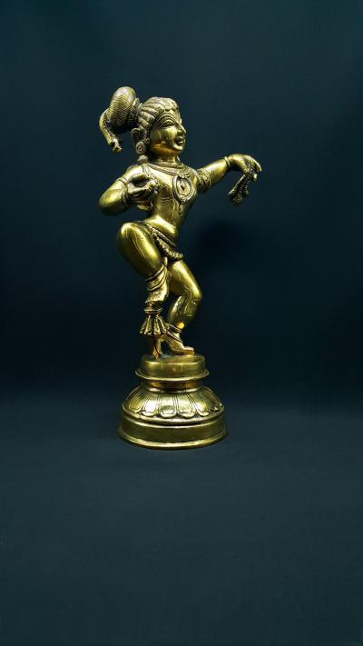 Statue la danse de Balakrishna